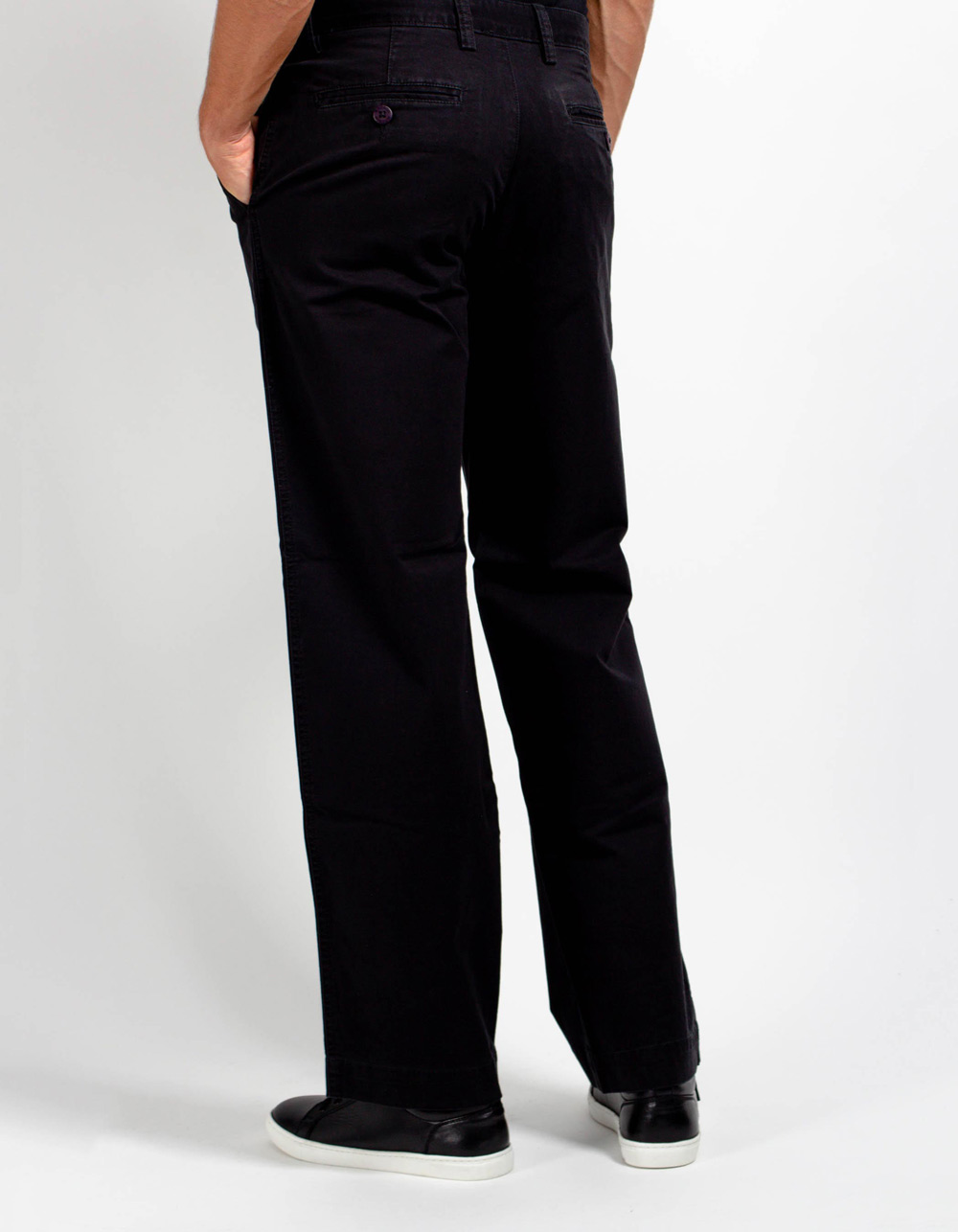 Black chinos trousers - Backside