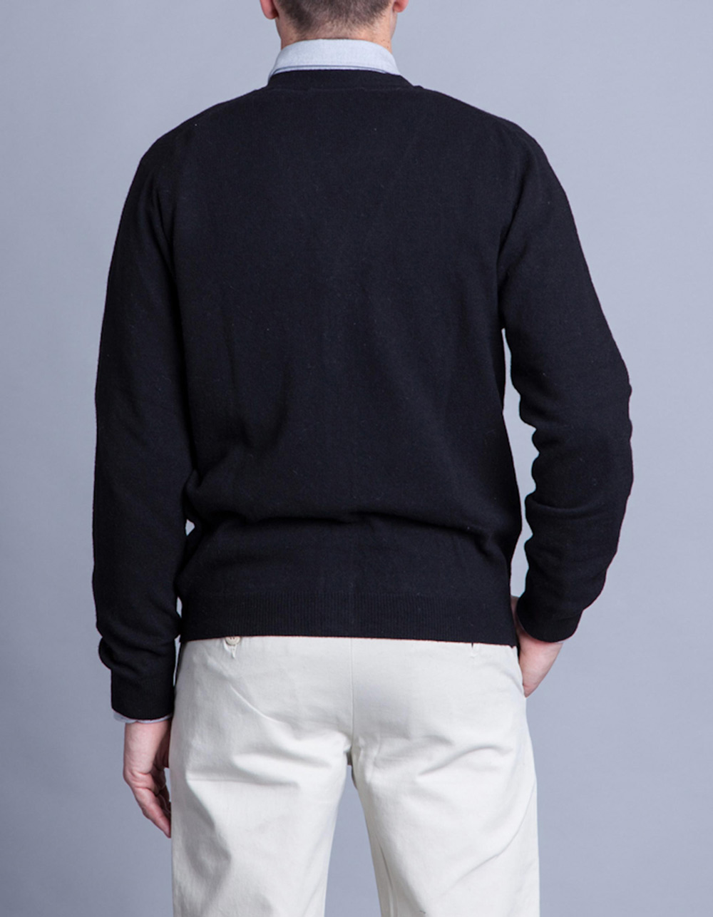 Black cardigan - Backside