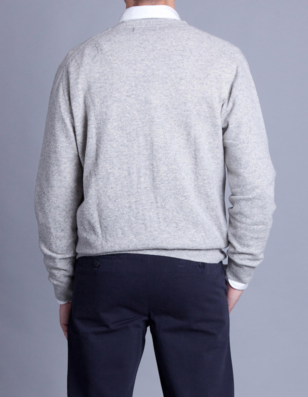 Light grey cardigan - Backside