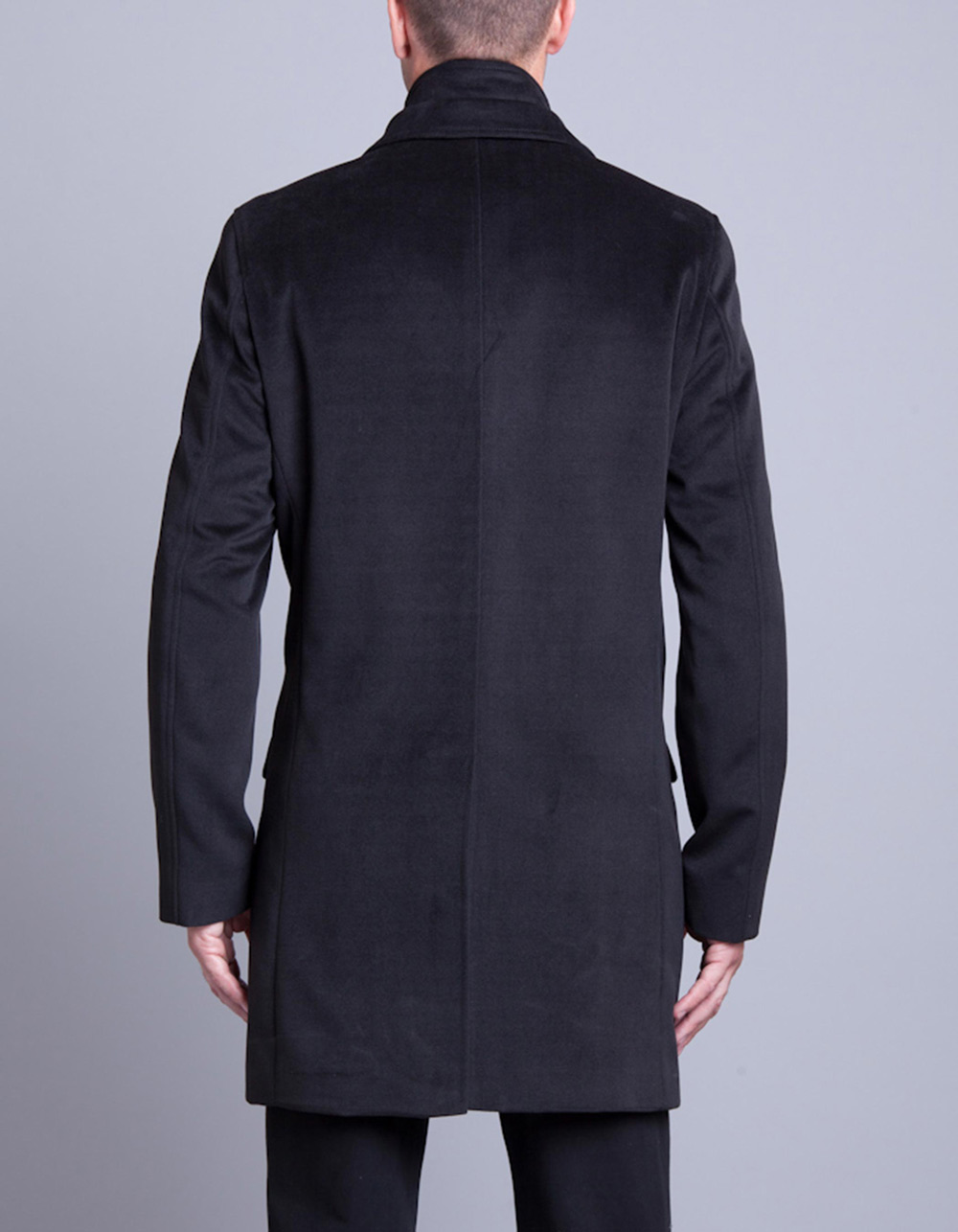 Black coat - Backside