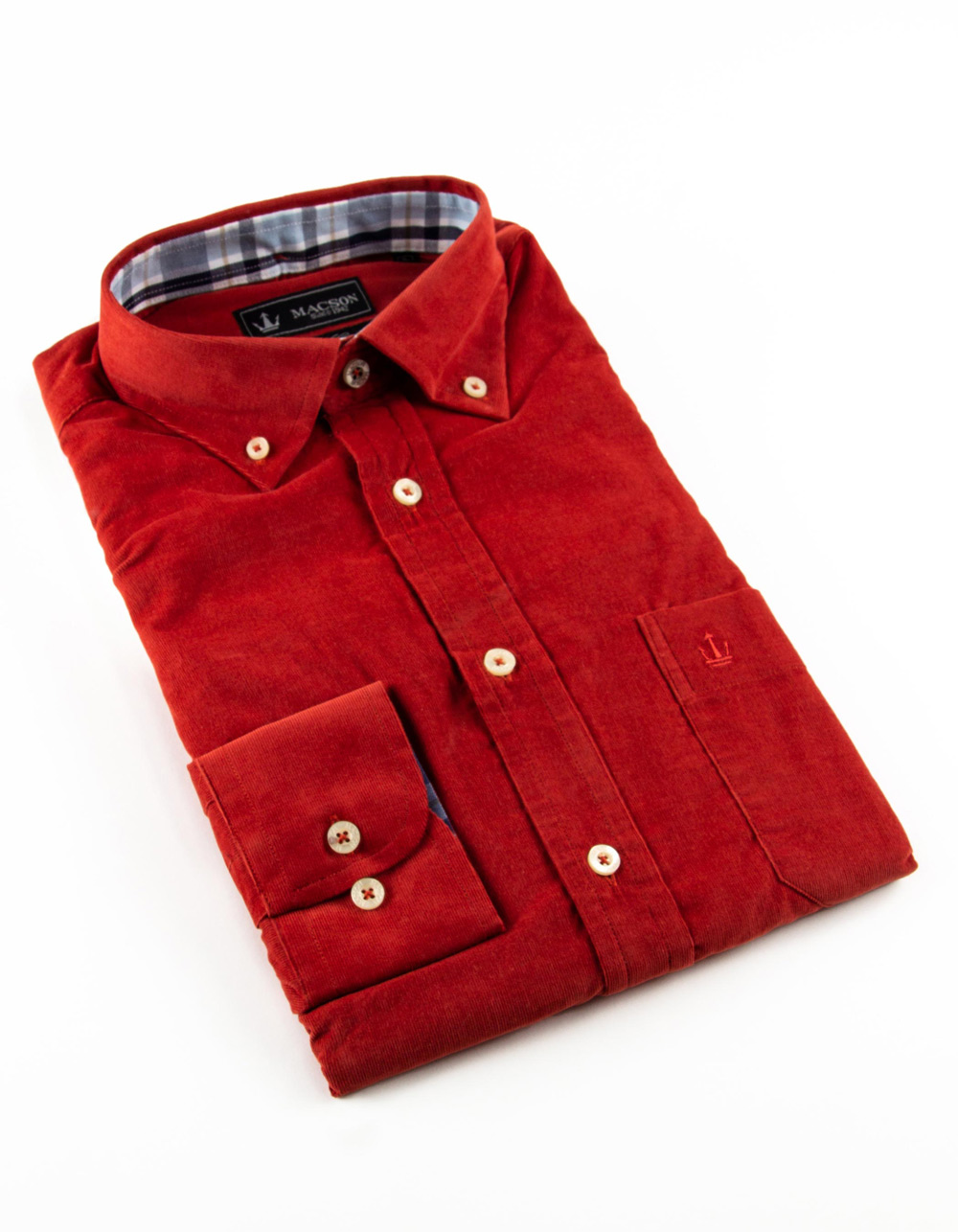 finest corduroy Dress Shirt