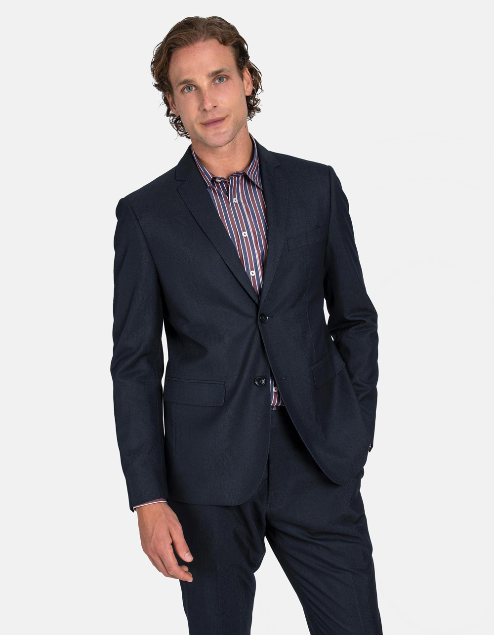 Black Oxford suit