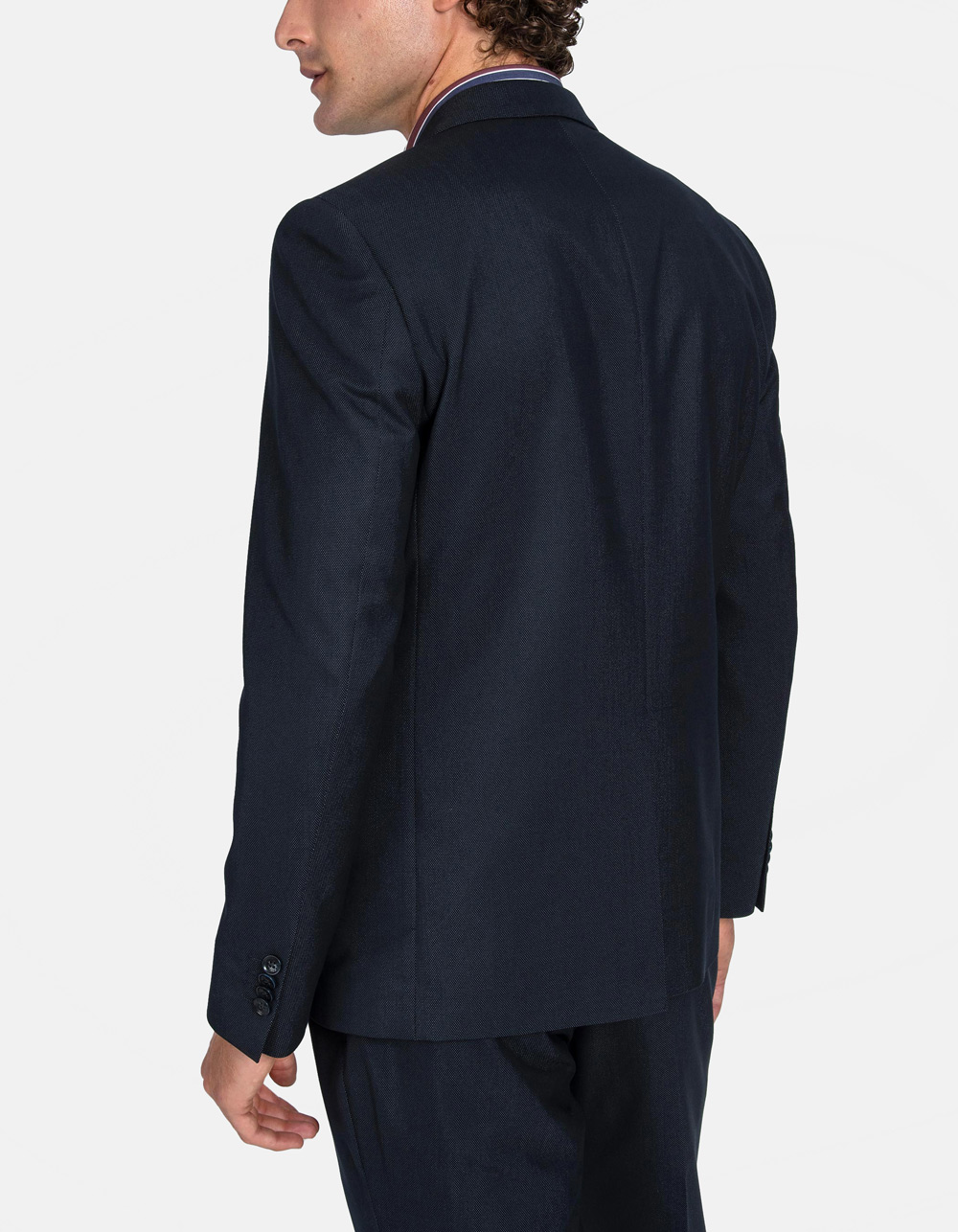 Black Oxford suit - Backside