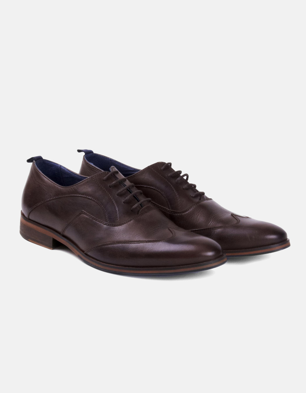 Zapatos Oxford Marrónes