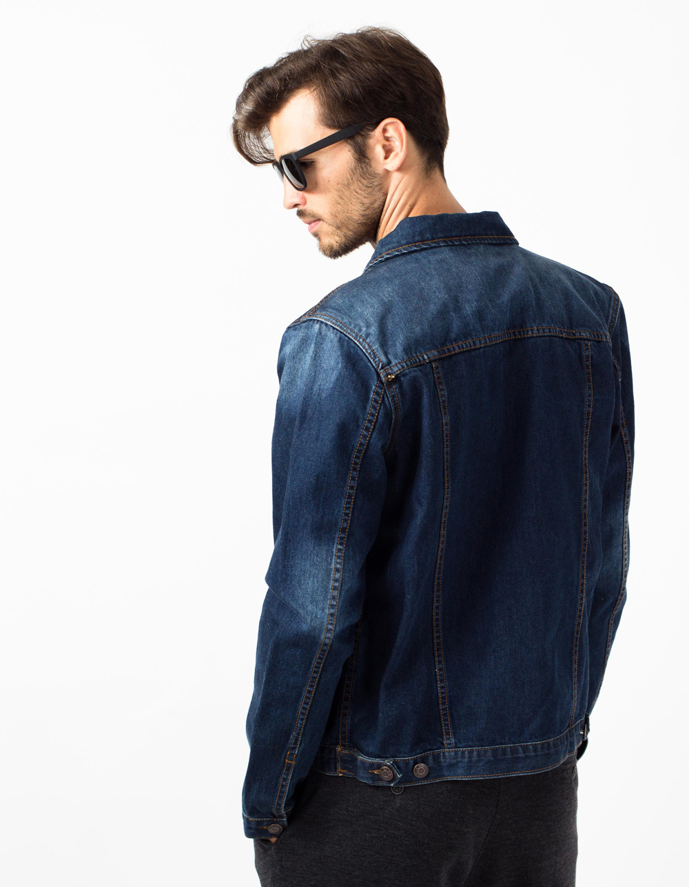 Denim jacket - Backside