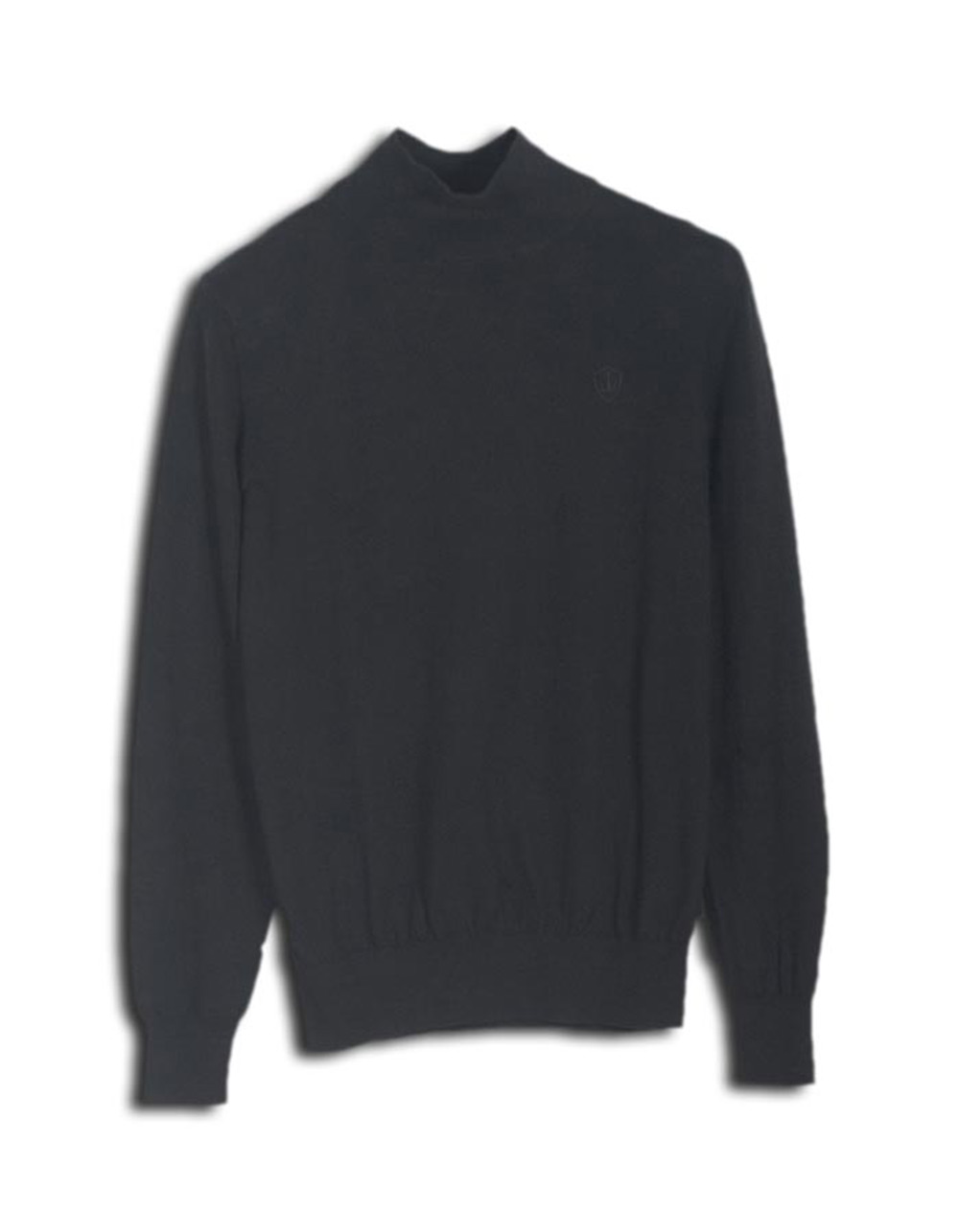 Black turtleneck jersey - Backside