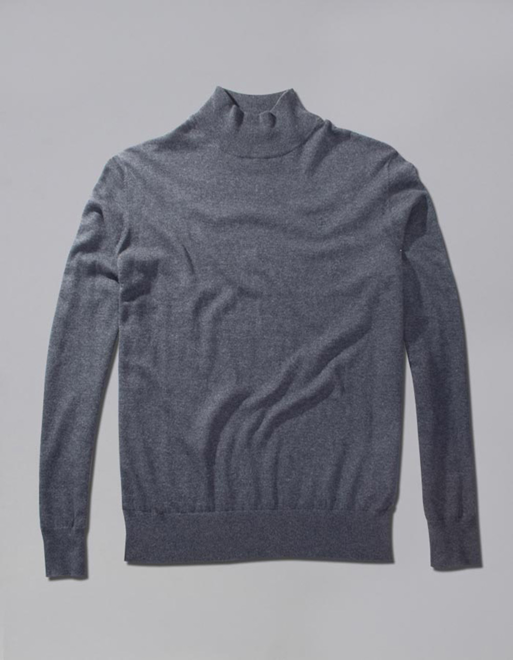 Roll neck sweater - Backside