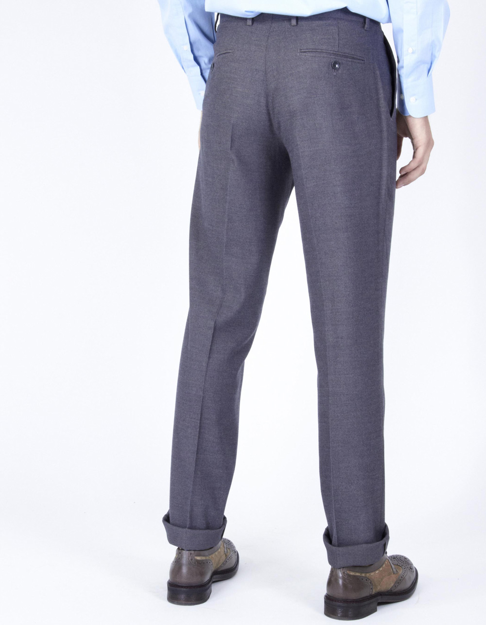 Grey formal trousers - Backside