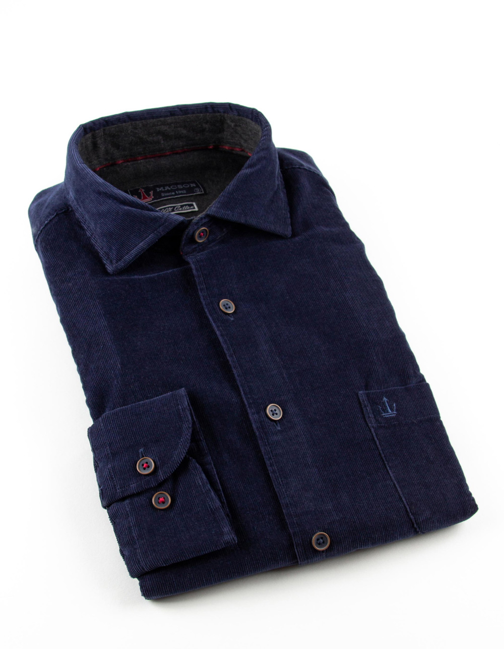 Blue finest corduroy shirt