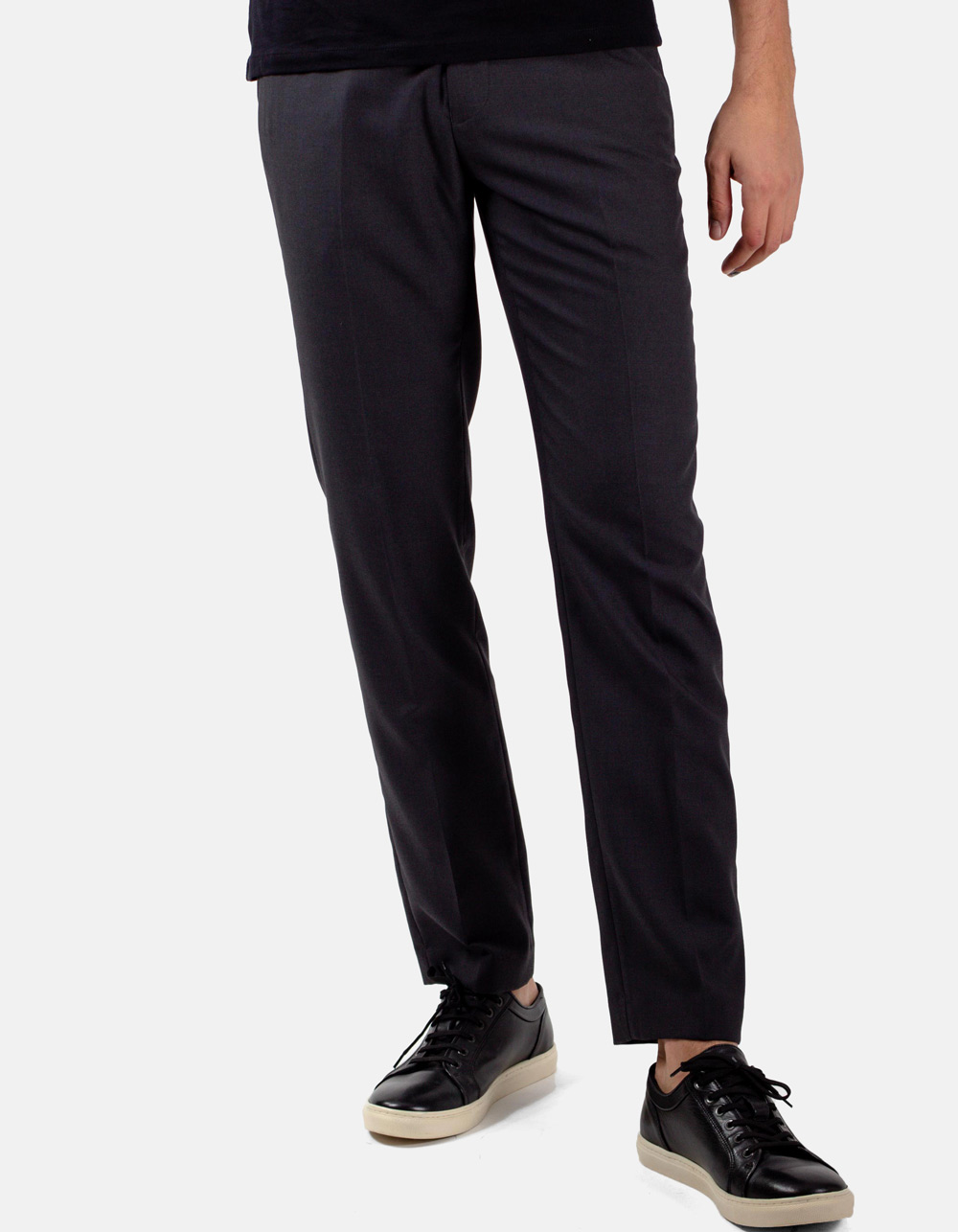 Dark Grey plain trousers