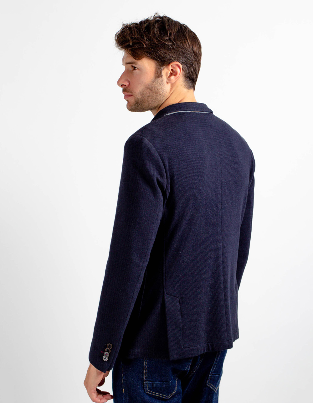 Cross blazer - Backside