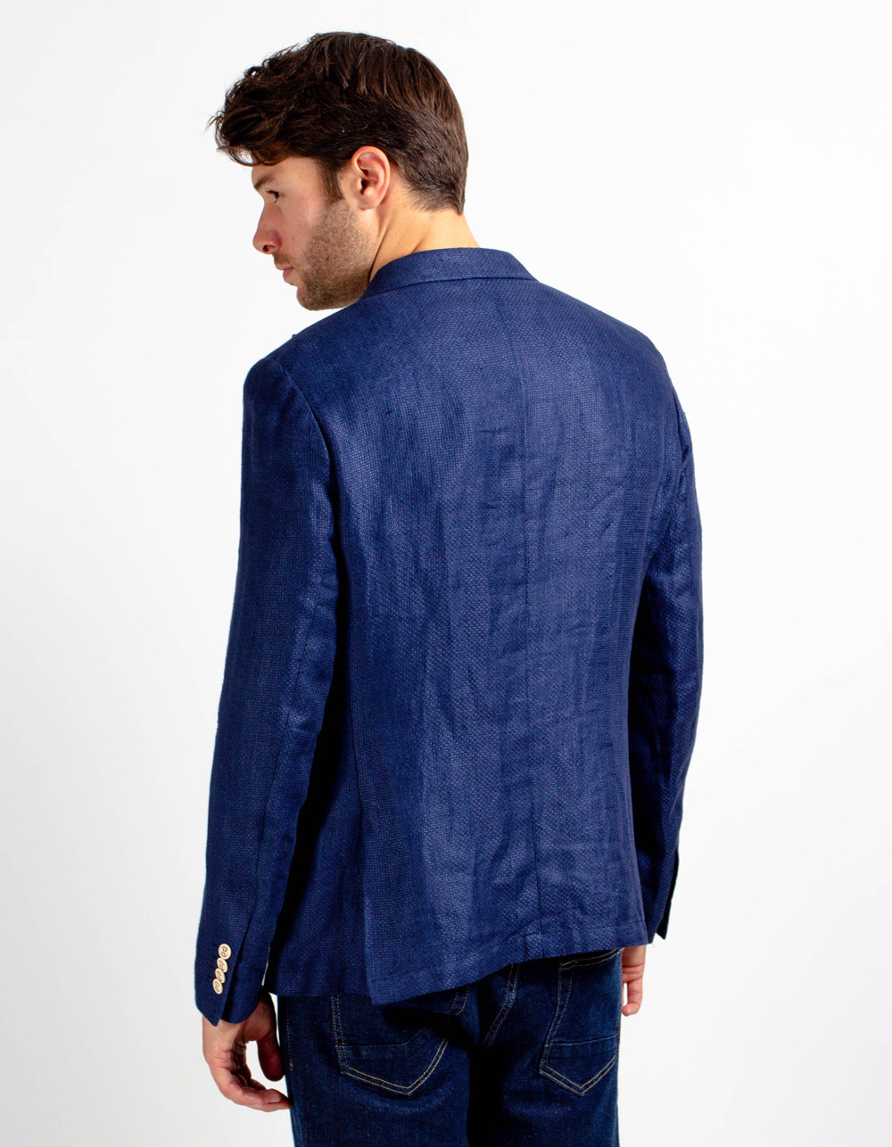 Linen blazer - Backside