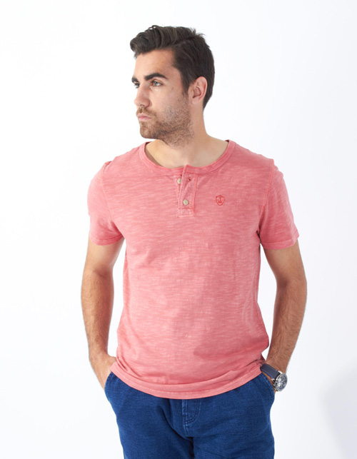 Camiseta flamé coral - Backside