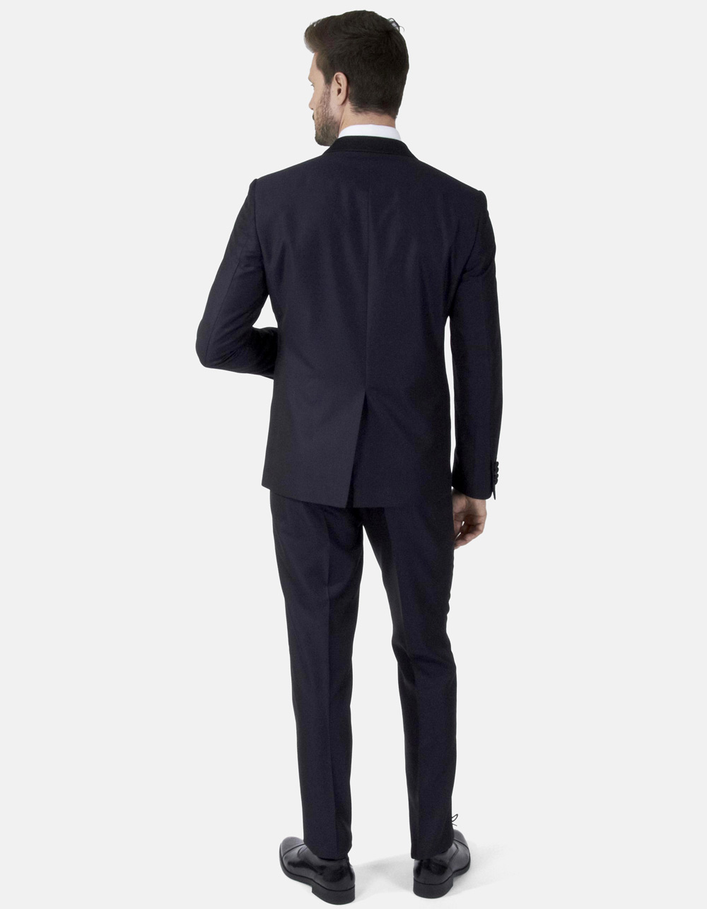 Ceremony dark blue suit - Backside