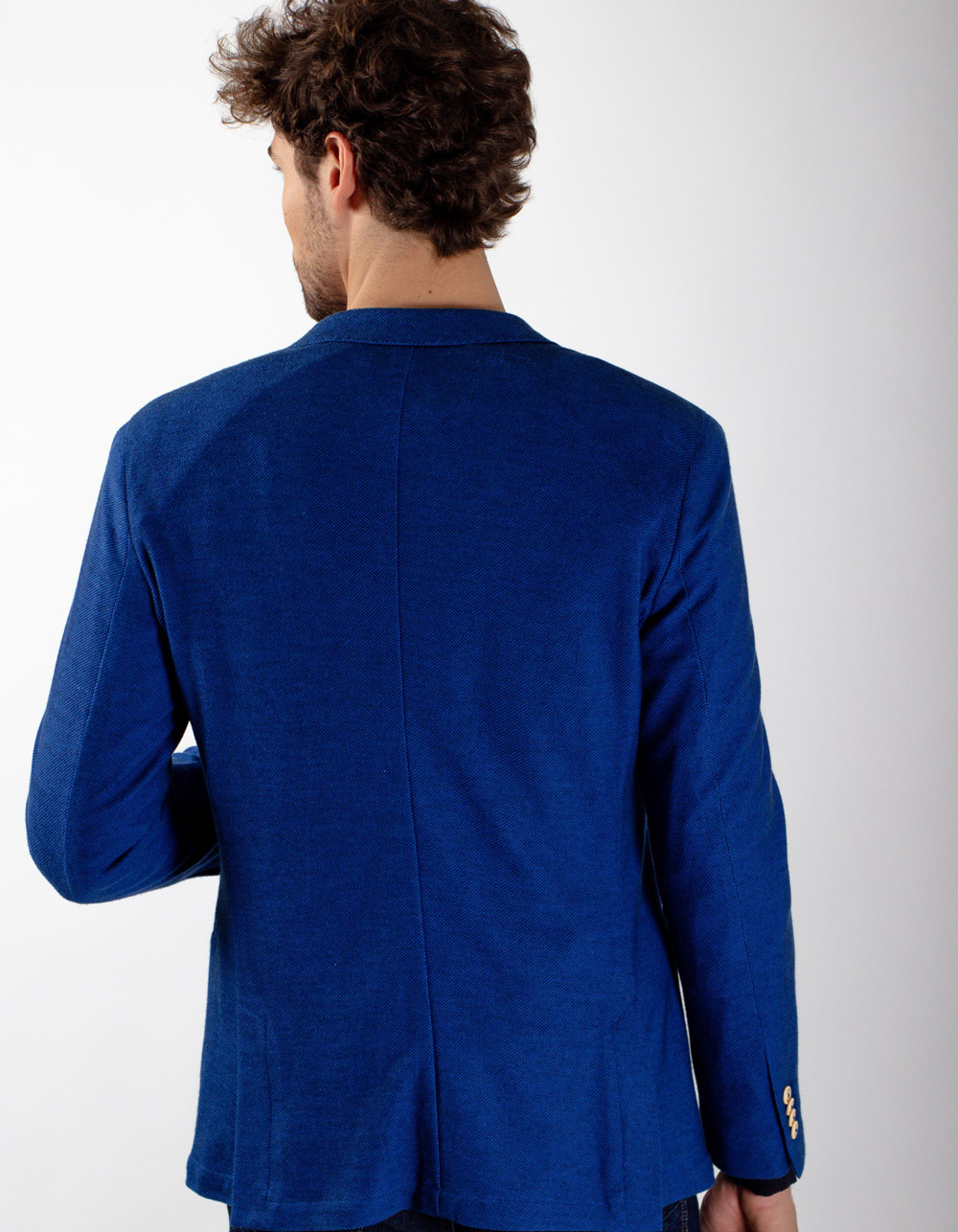 Royal blue blazer - Backside