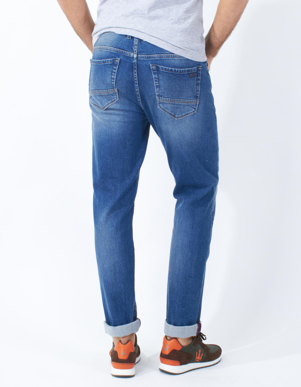 Light blue jeans - Backside
