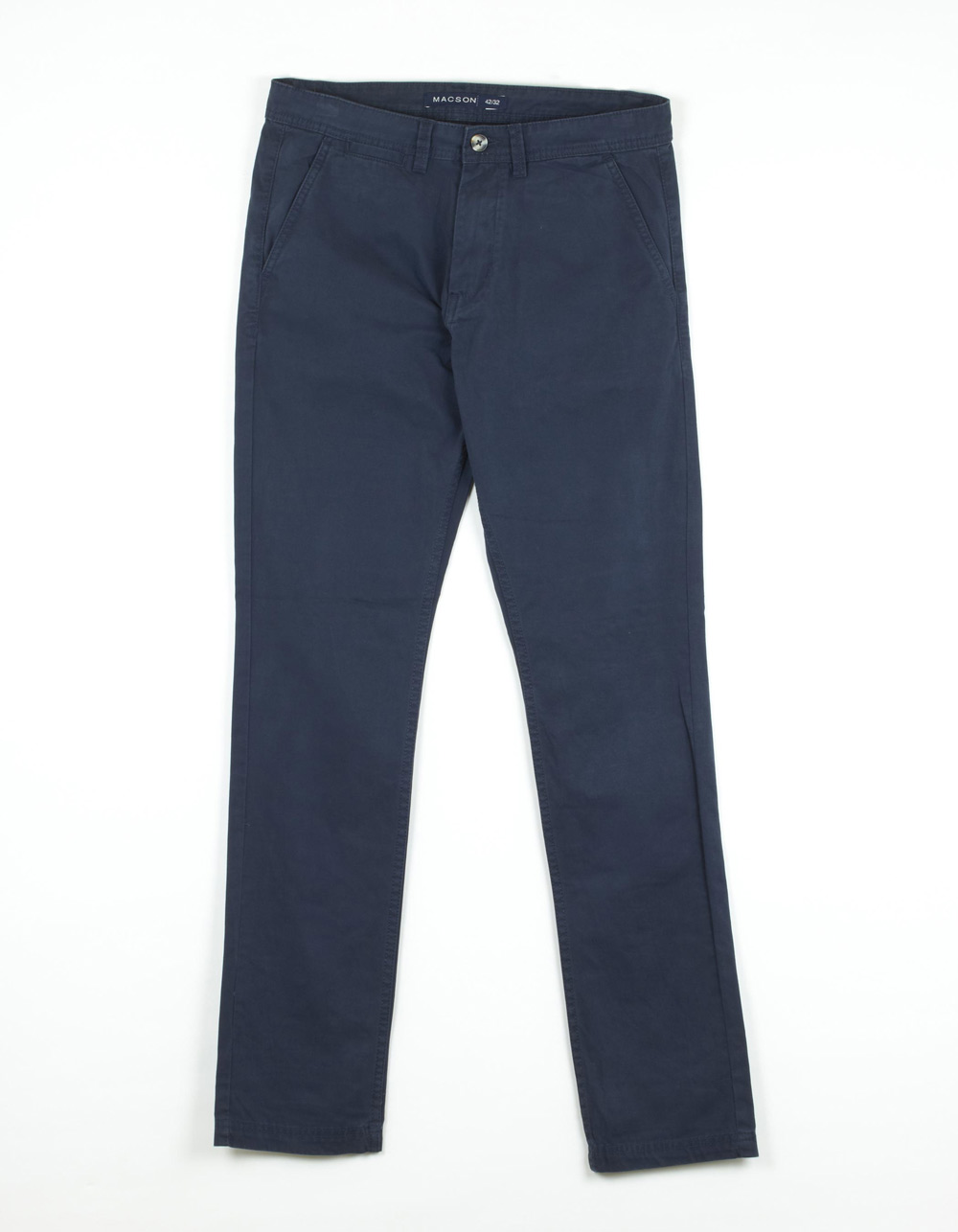 Navy blue chinos trousers - Backside