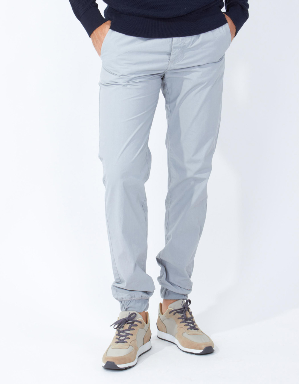 Grey jogging trousers - Backside