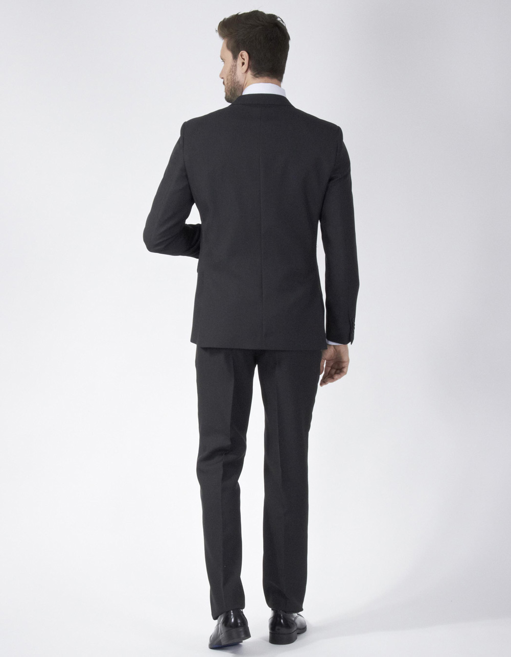 Black suit - Backside
