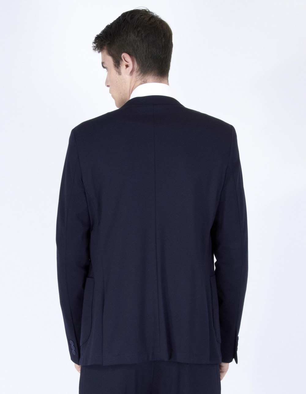 Navy blue jacket - Backside