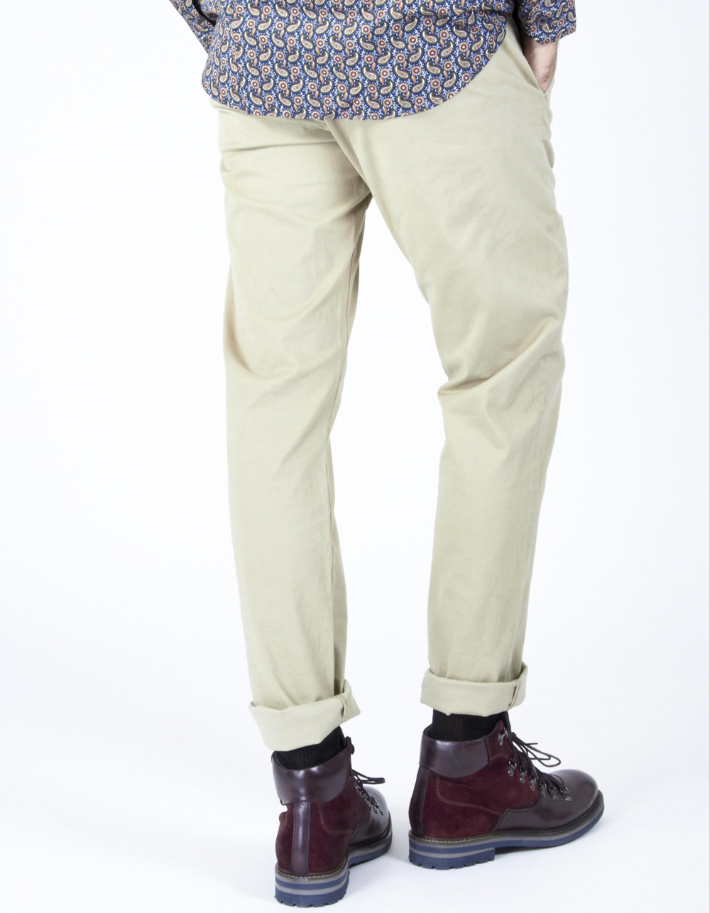 Beige chinos - Backside