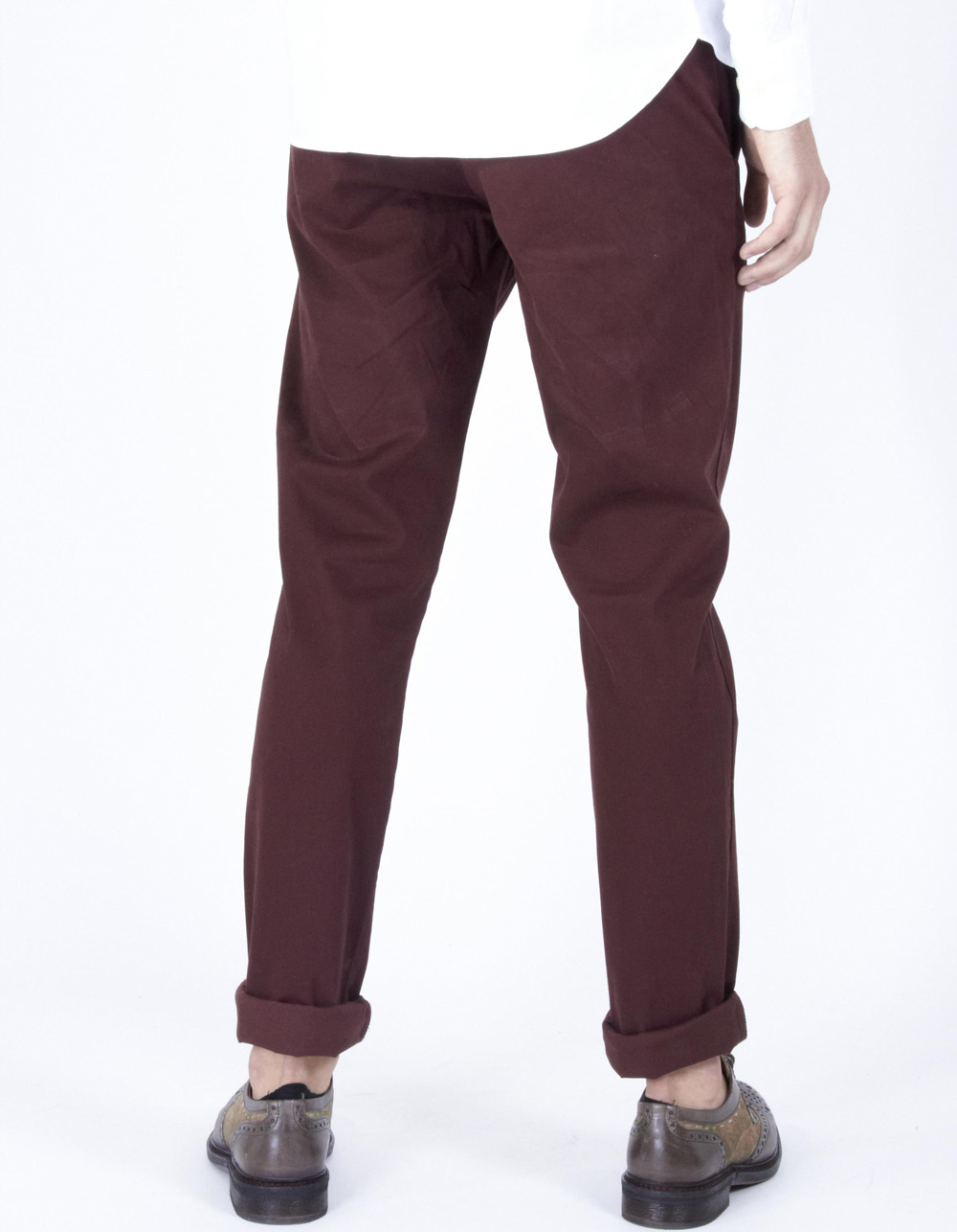 Maroon chinos - Backside