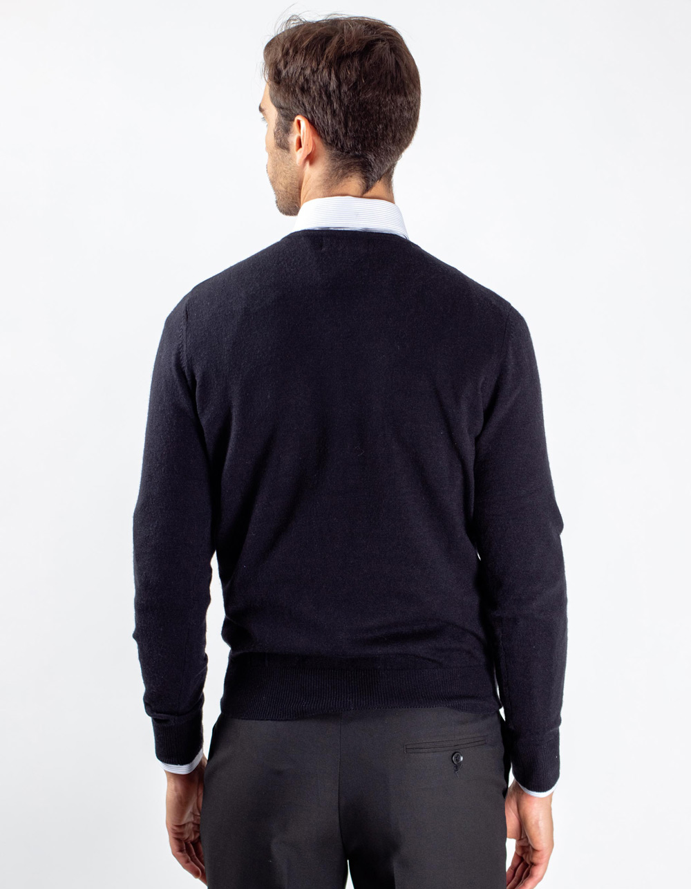 Jersey de cuello negro - Backside