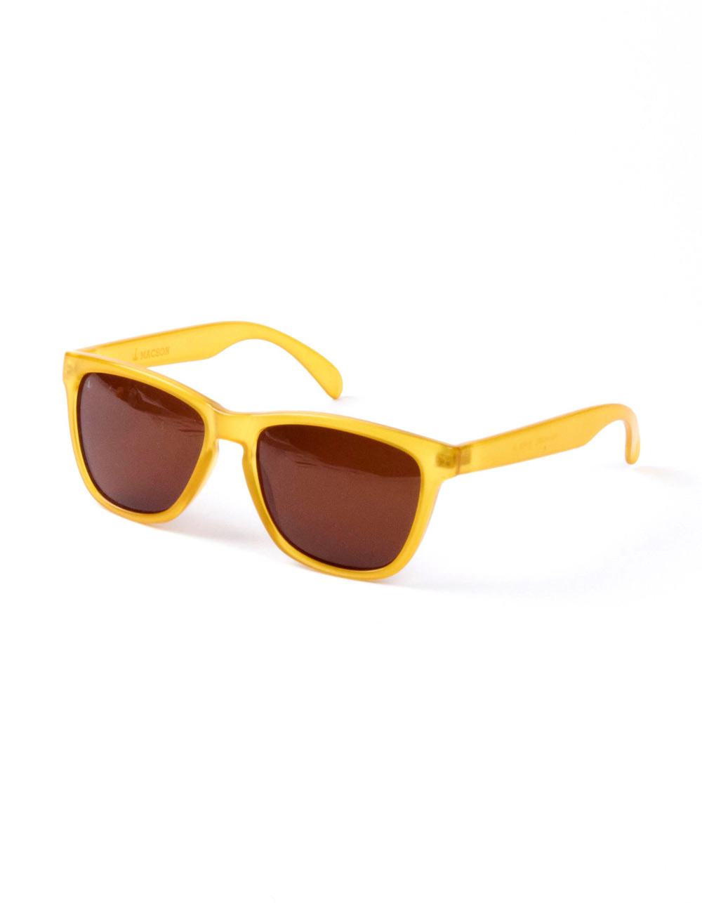 Sunglasses retro yellow