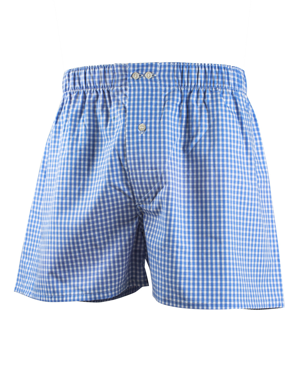 Blue boxer shorts - Backside