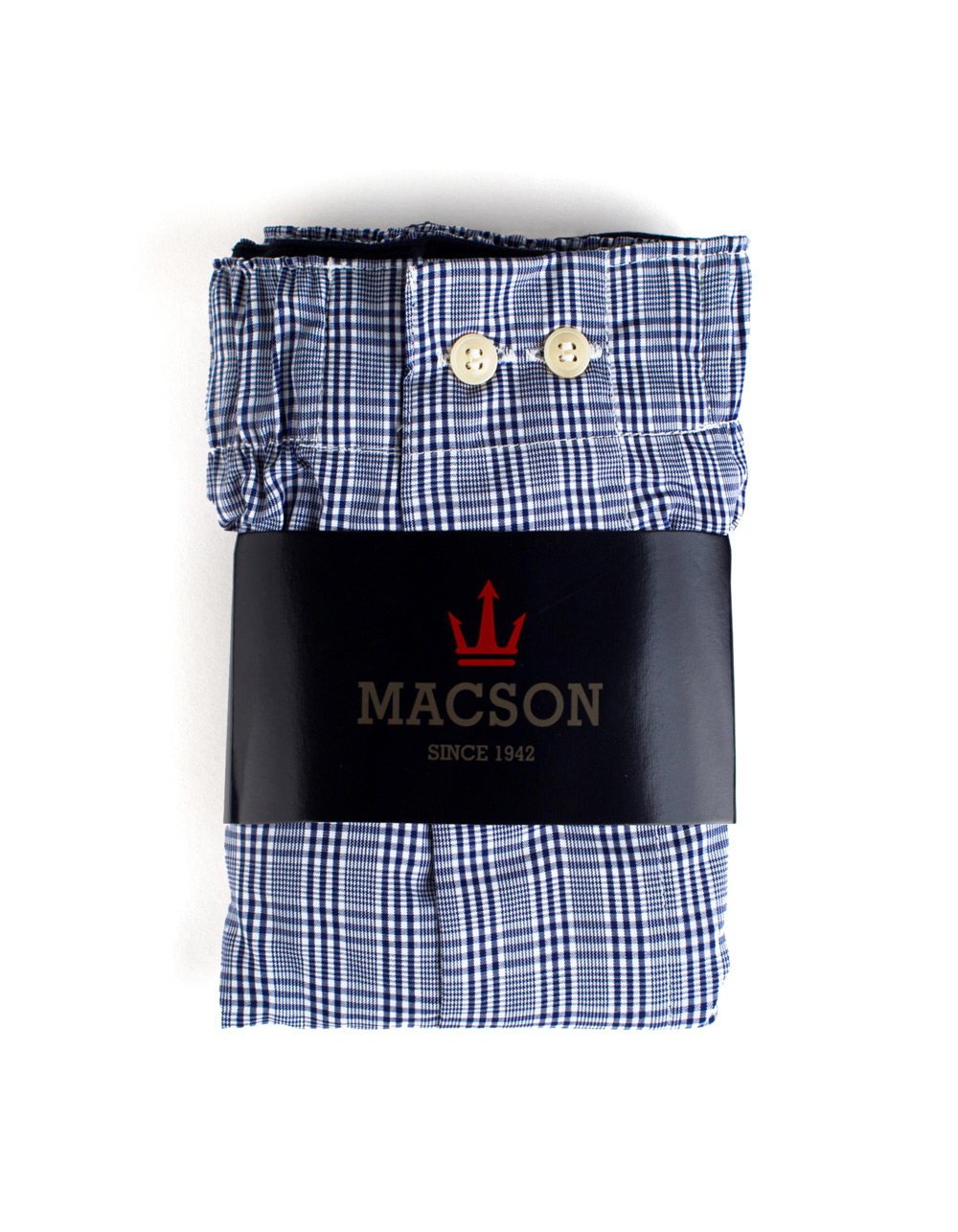 Navy blue boxer shorts - Backside