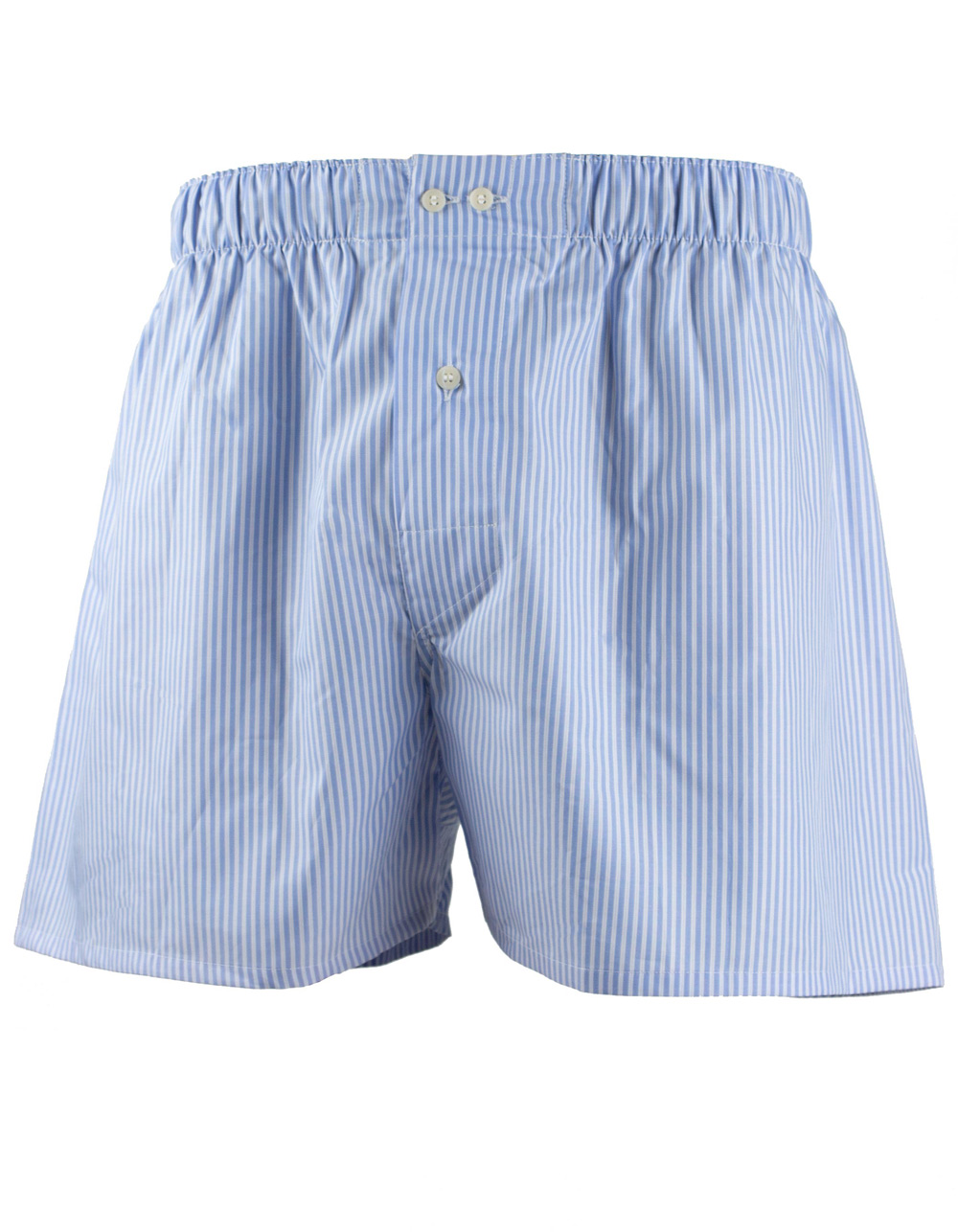 Blue stripes boxer shorts
