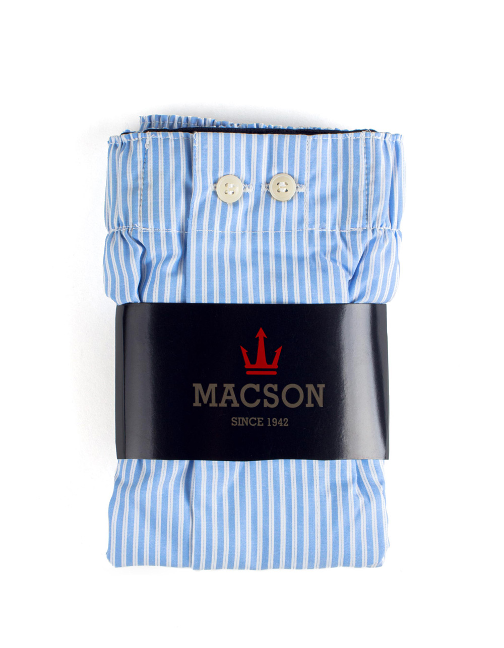 Blue stripes boxer shorts - Backside
