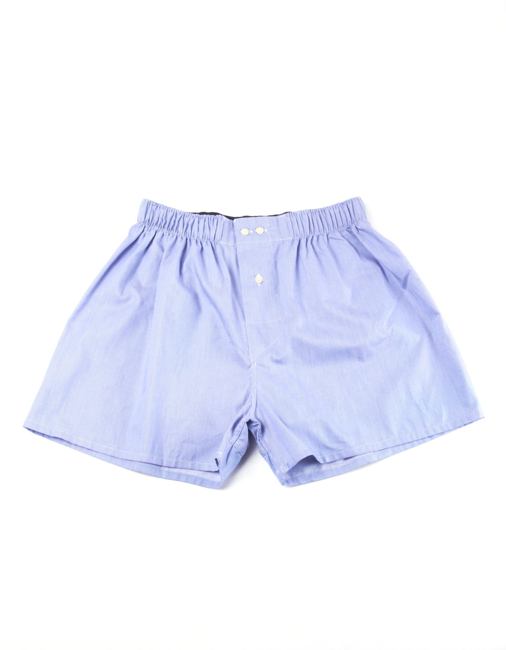Blue micro stripes boxer shorts