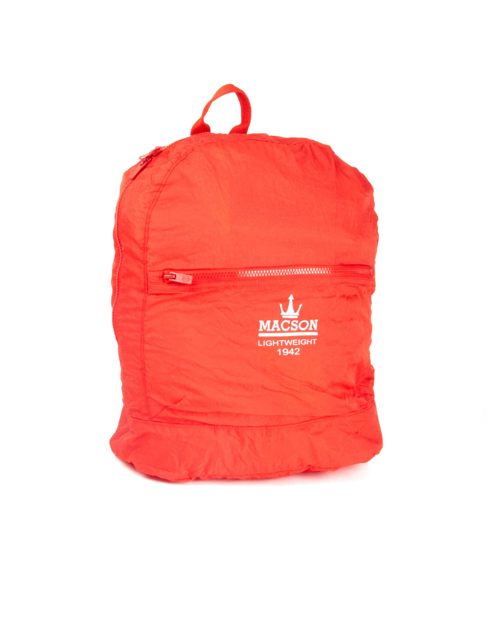Orange sport backpack