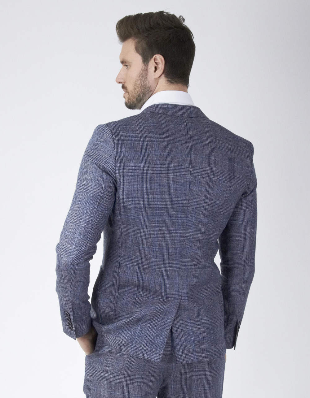 Wales Wool Jacket - Backside