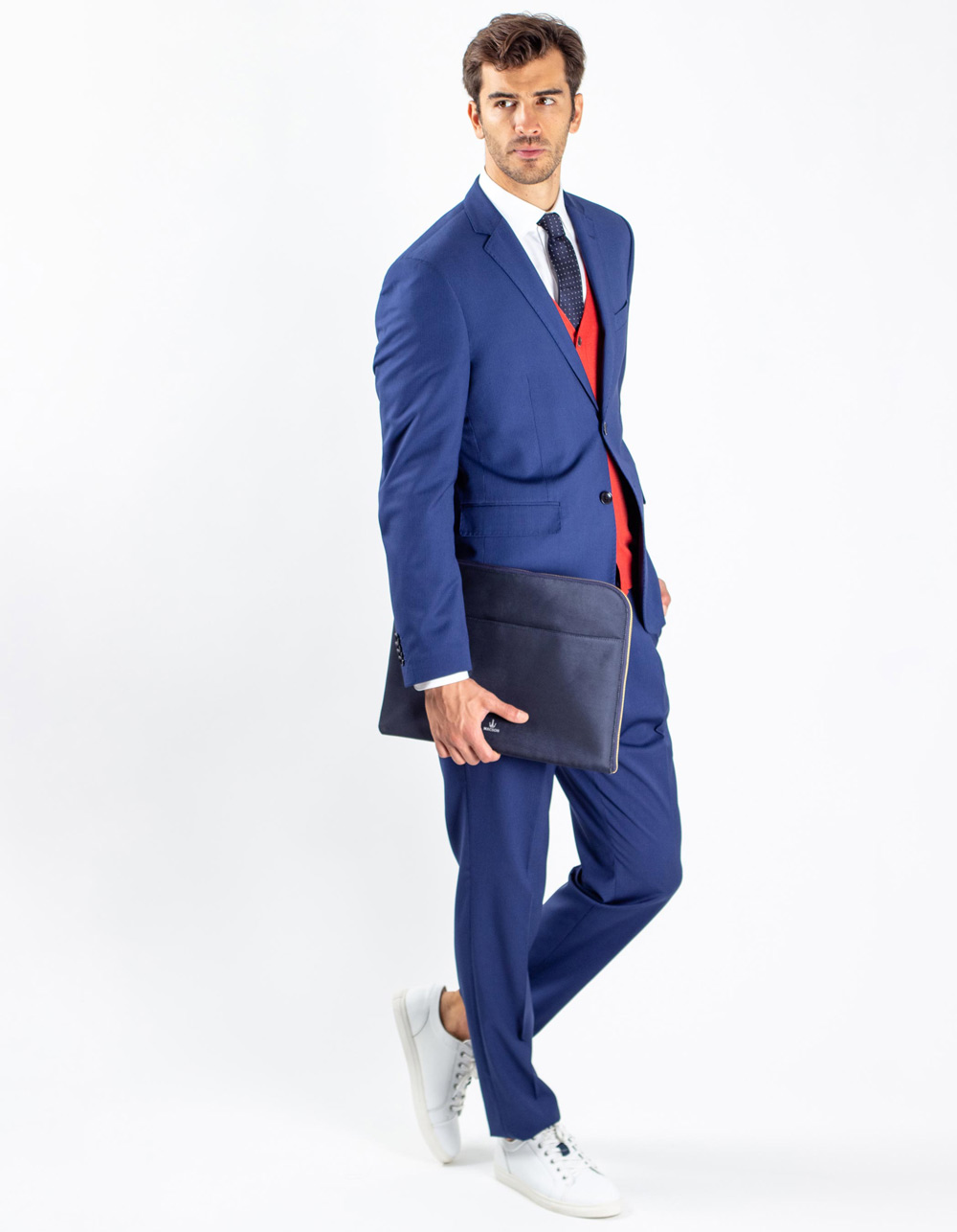 Oxford navy blue suit
