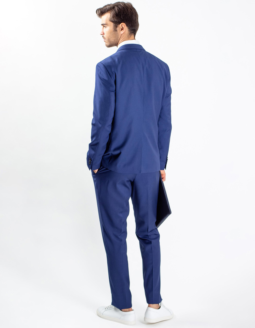 Oxford navy blue suit - Backside