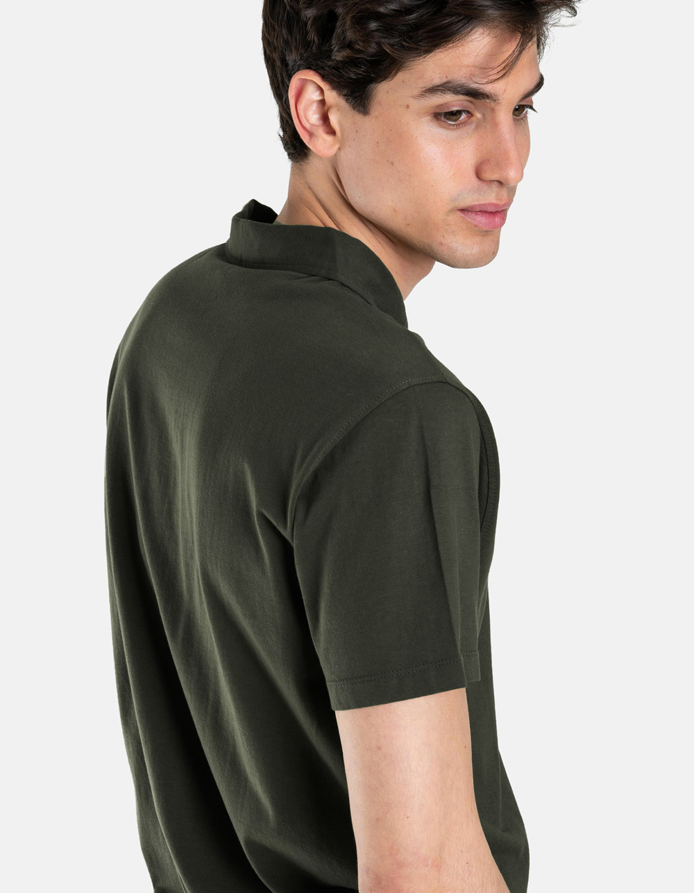 Kakhy pocket polo shirt - Backside