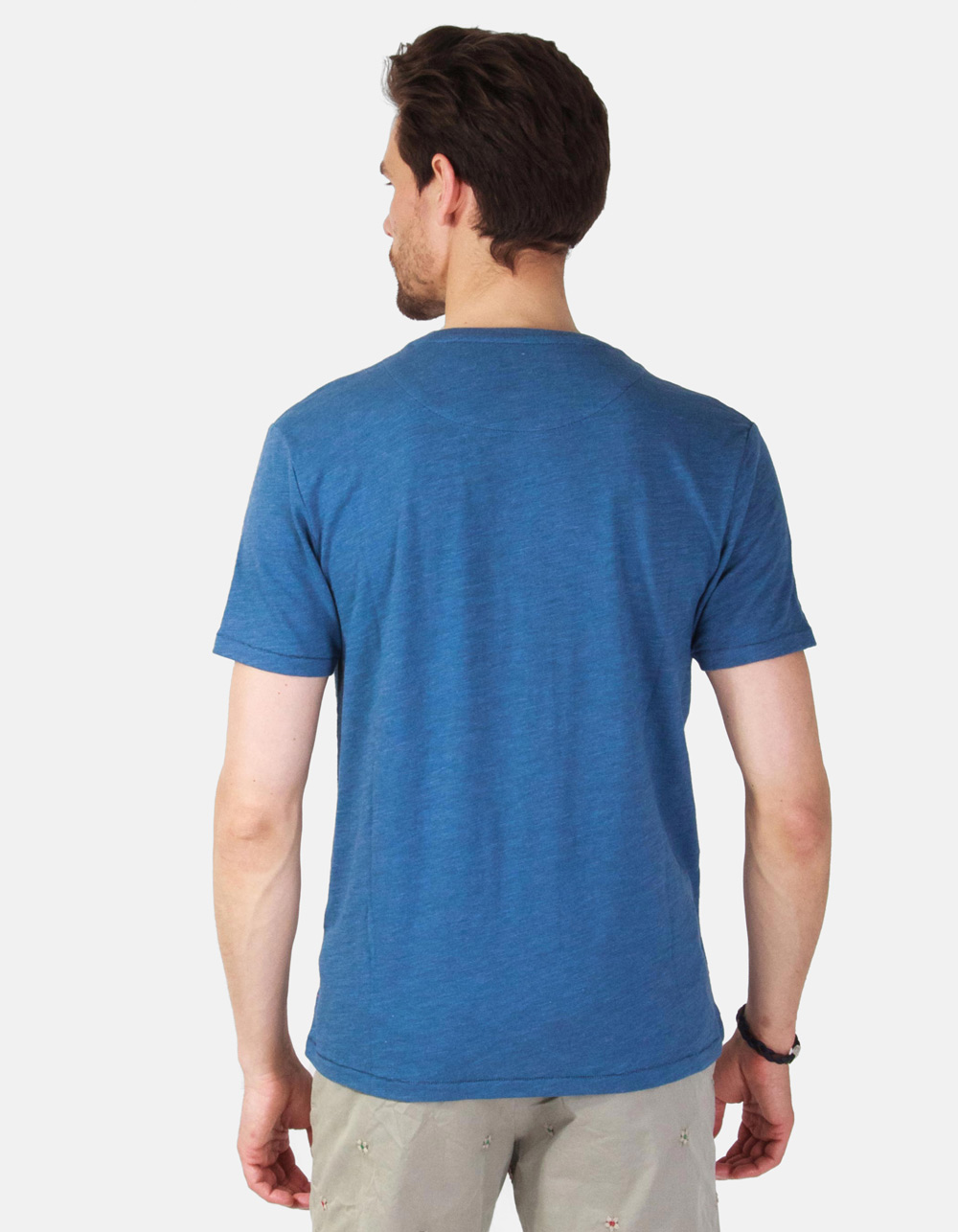 Camiseta Macson University azul - Backside