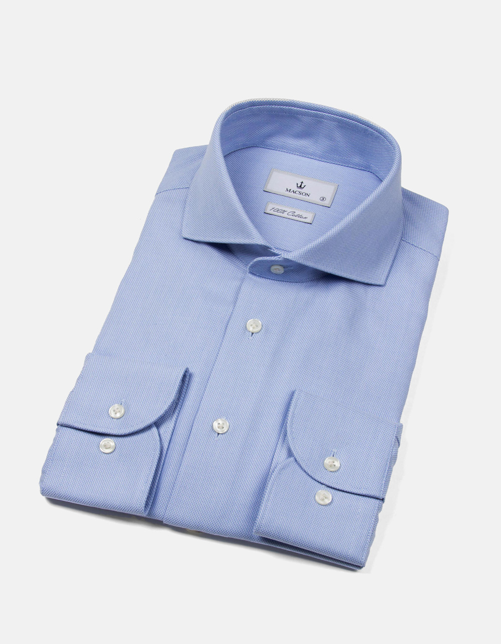 Camisa Royal Oxford celeste