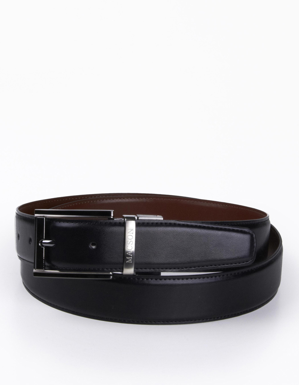 Dress reversible belt