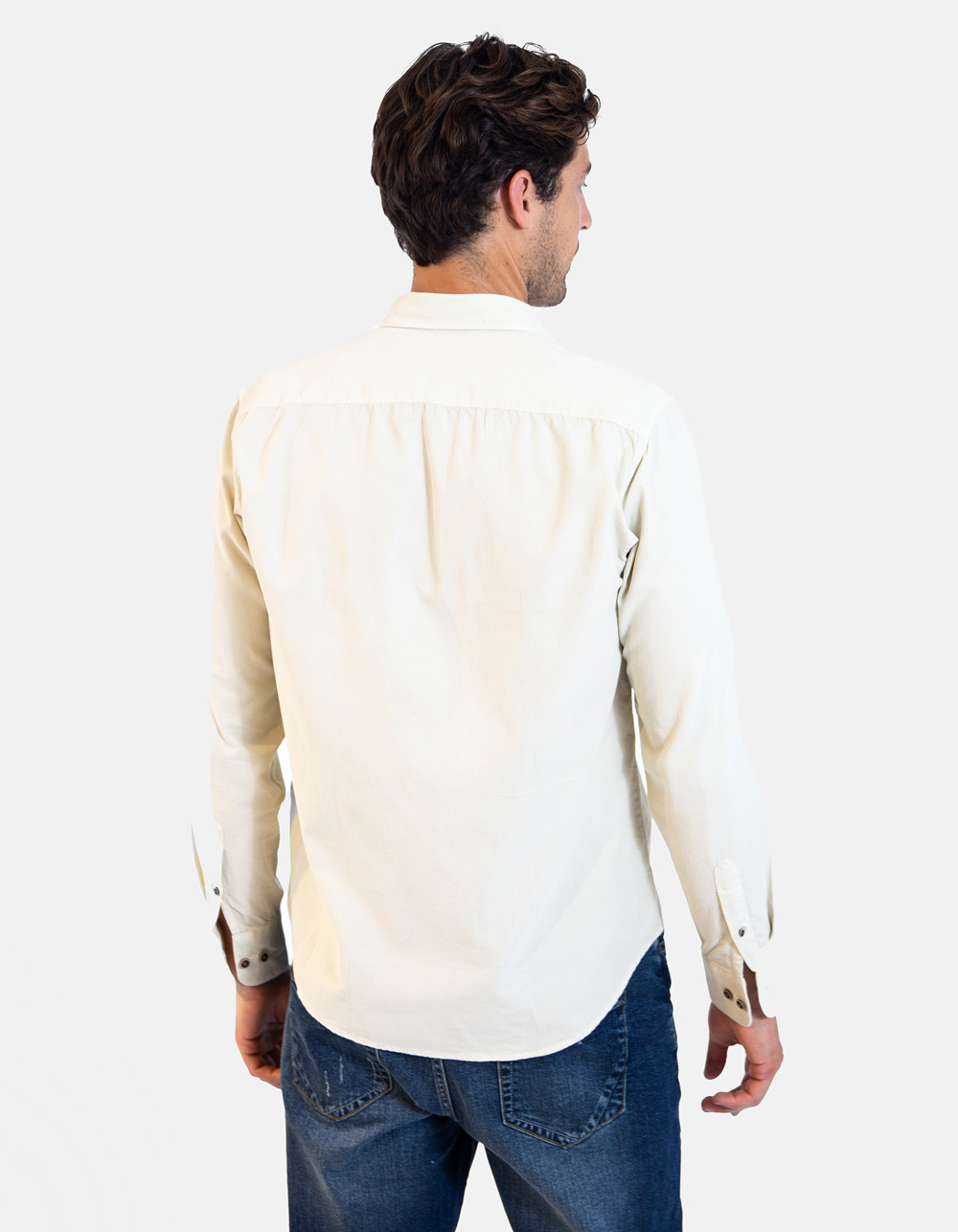 Micro corduroy Shirt - Backside