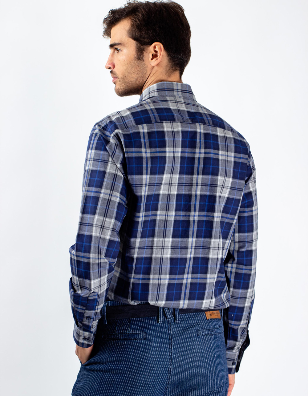 Camisa de cuadros - Backside