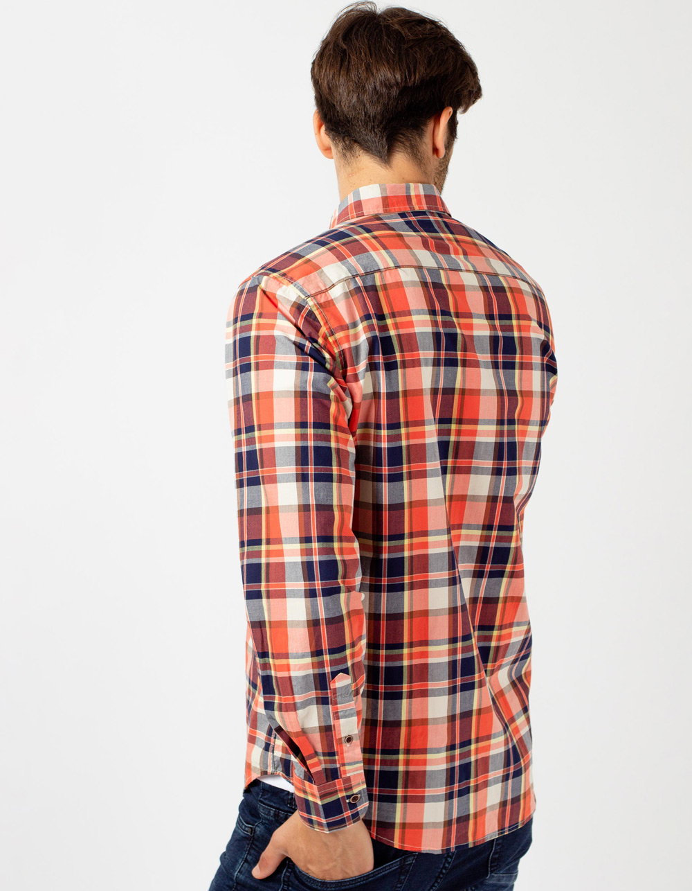 Checkered shirt - Backside