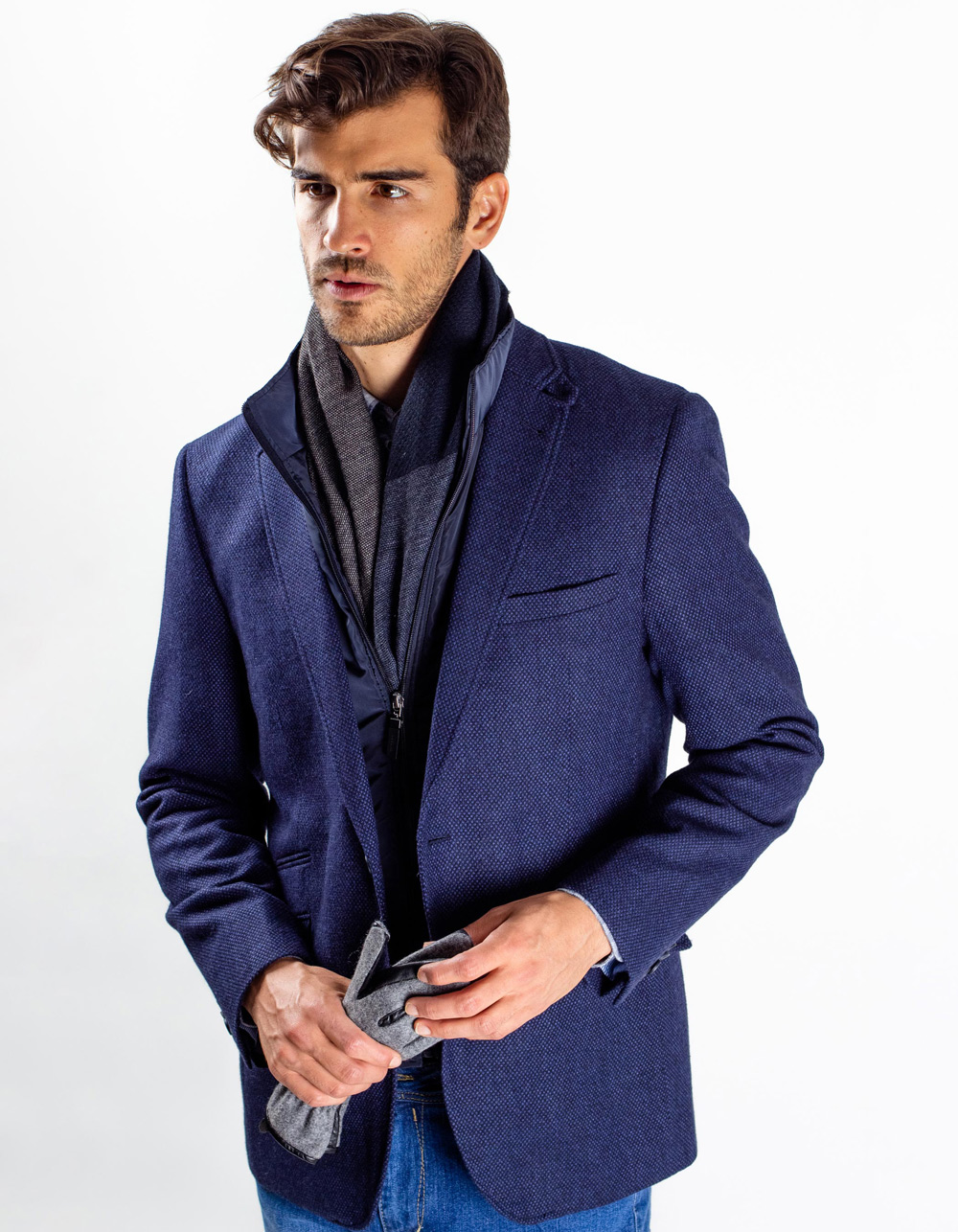 Structure Blazer , removable front .