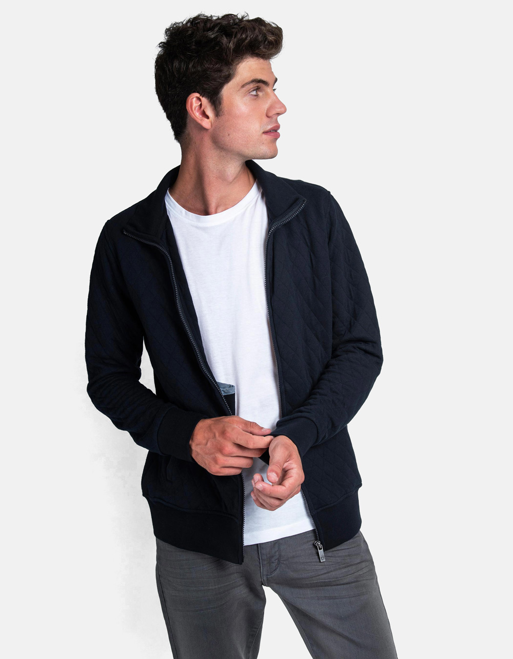 Blue rombhus jacket