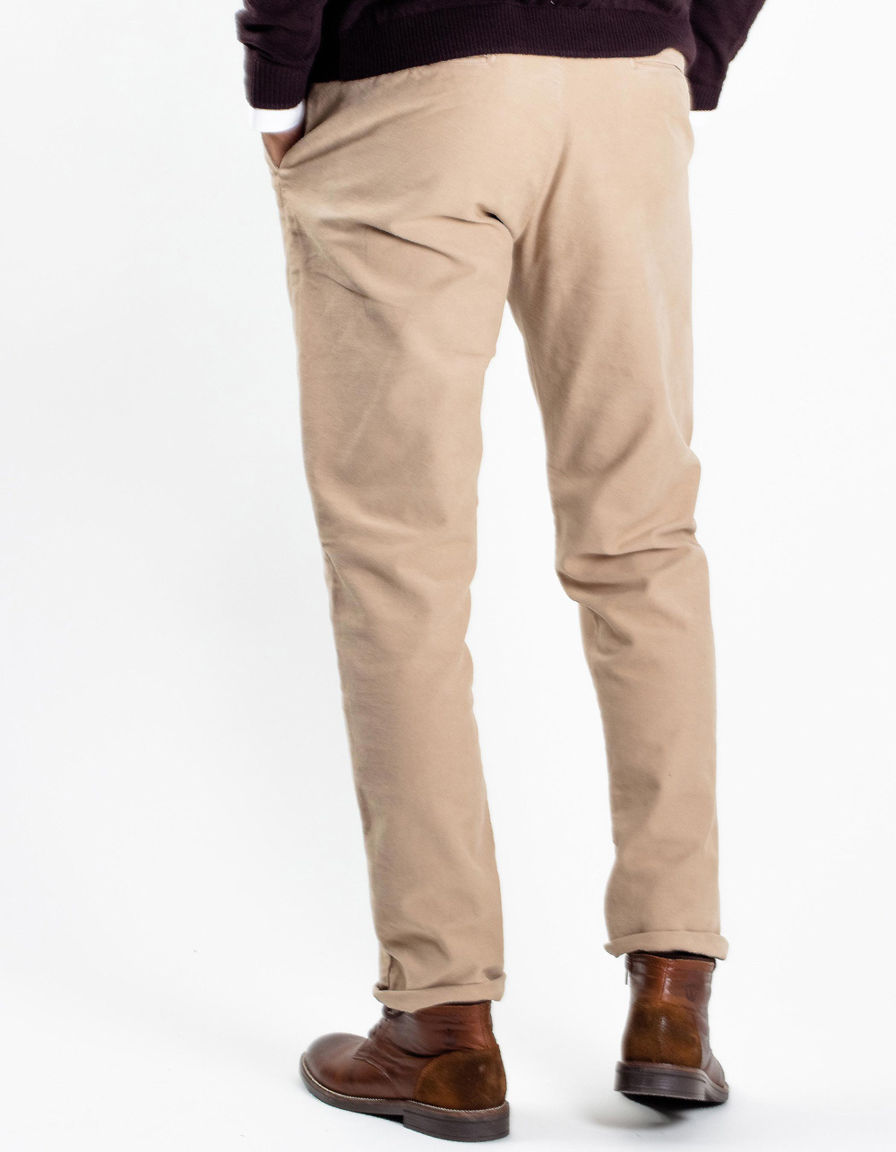 Beige chinos trousers - Backside