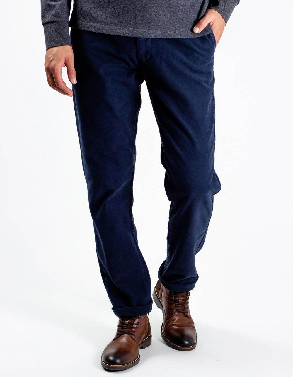 Dark Navy chinos trousers