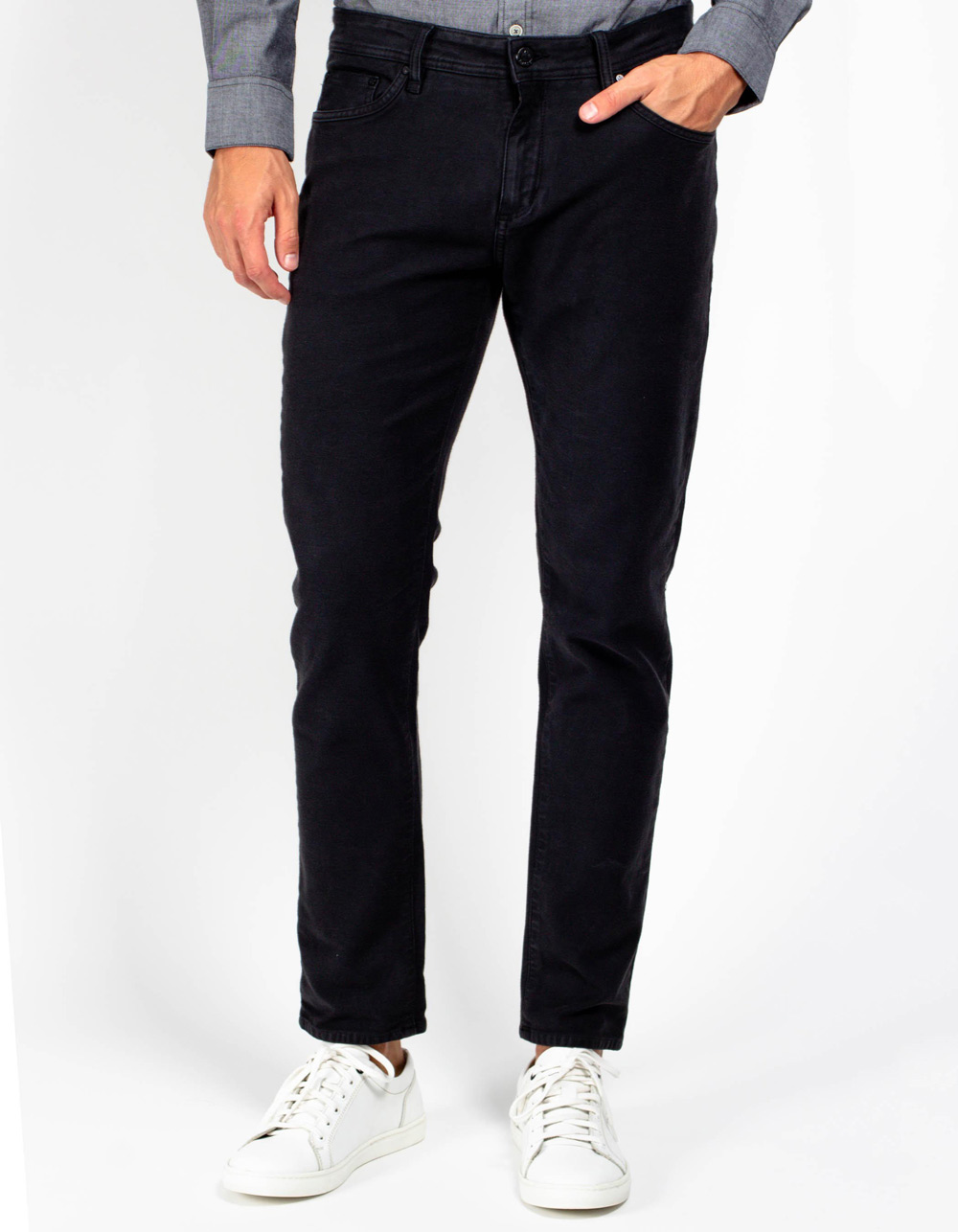 KOGARASHI 5 pockets oxford trousers