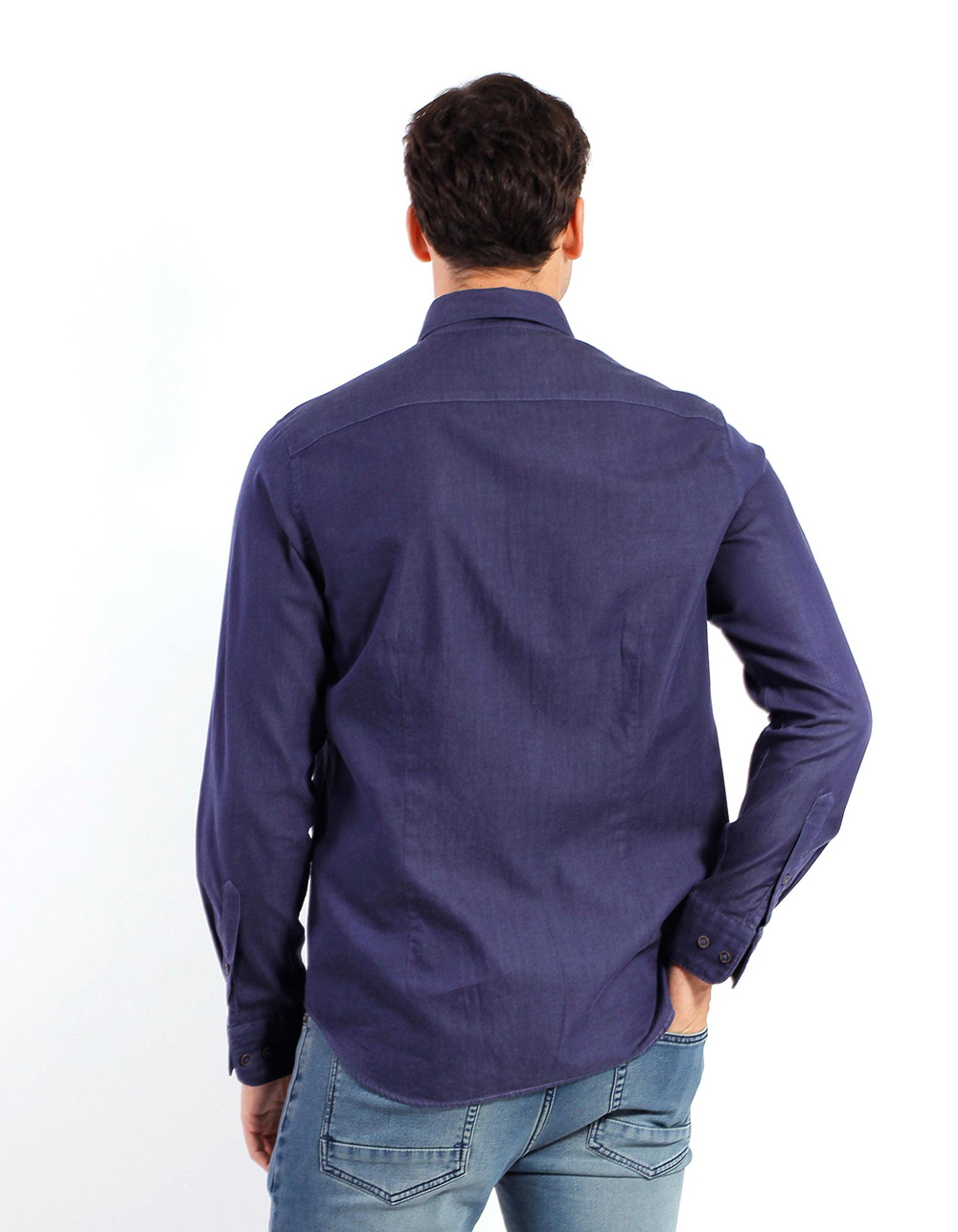 Camisa Twill denim - Backside